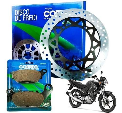 Disco de Freio Ybr Factor 125 2009-2015 + Pastilha Cobreq