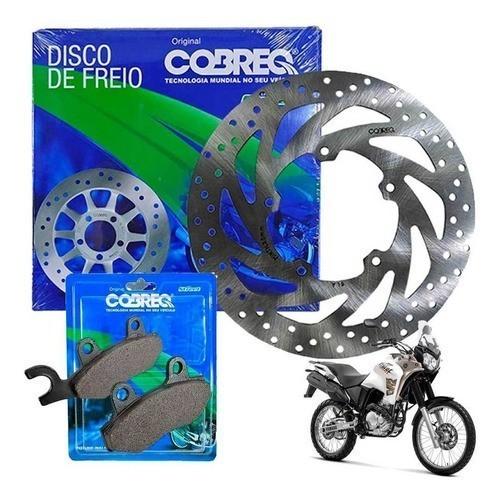 Disco Freio Dianteiro Tenere 250 até 2015 + Pastilhas Cobreq