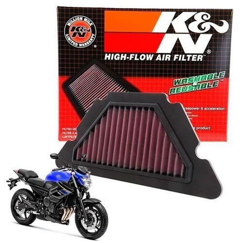 Filtro de Ar K&N XJ6 Todas Esportivo Lavável YA6009