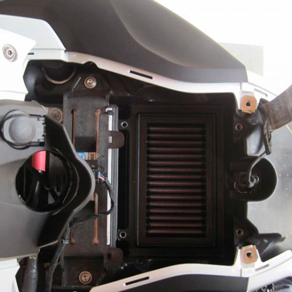Filtro de Ar K&N BMW F650GS F650 GS Vela Iridium Kit Limpeza