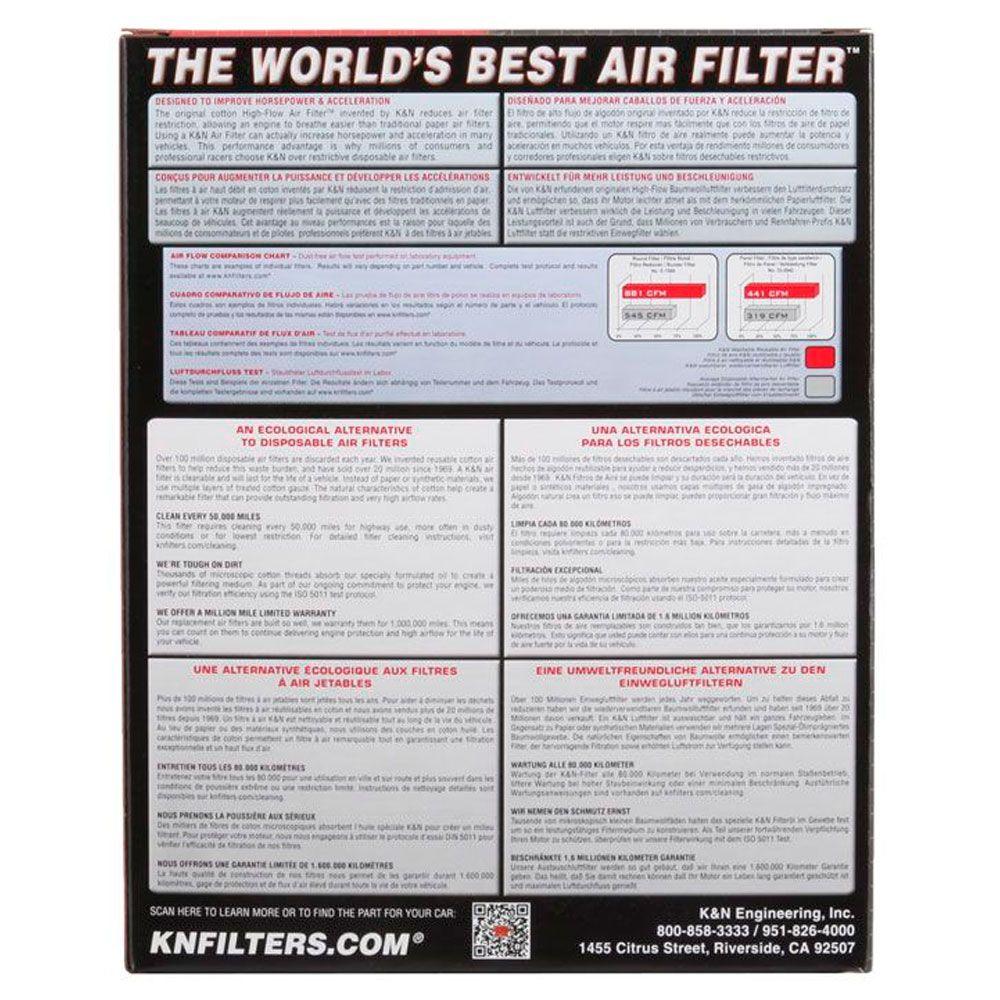 Filtro de Ar K&N GSX1250FA GSX 1250FA 1250 FA + Kit Limpeza