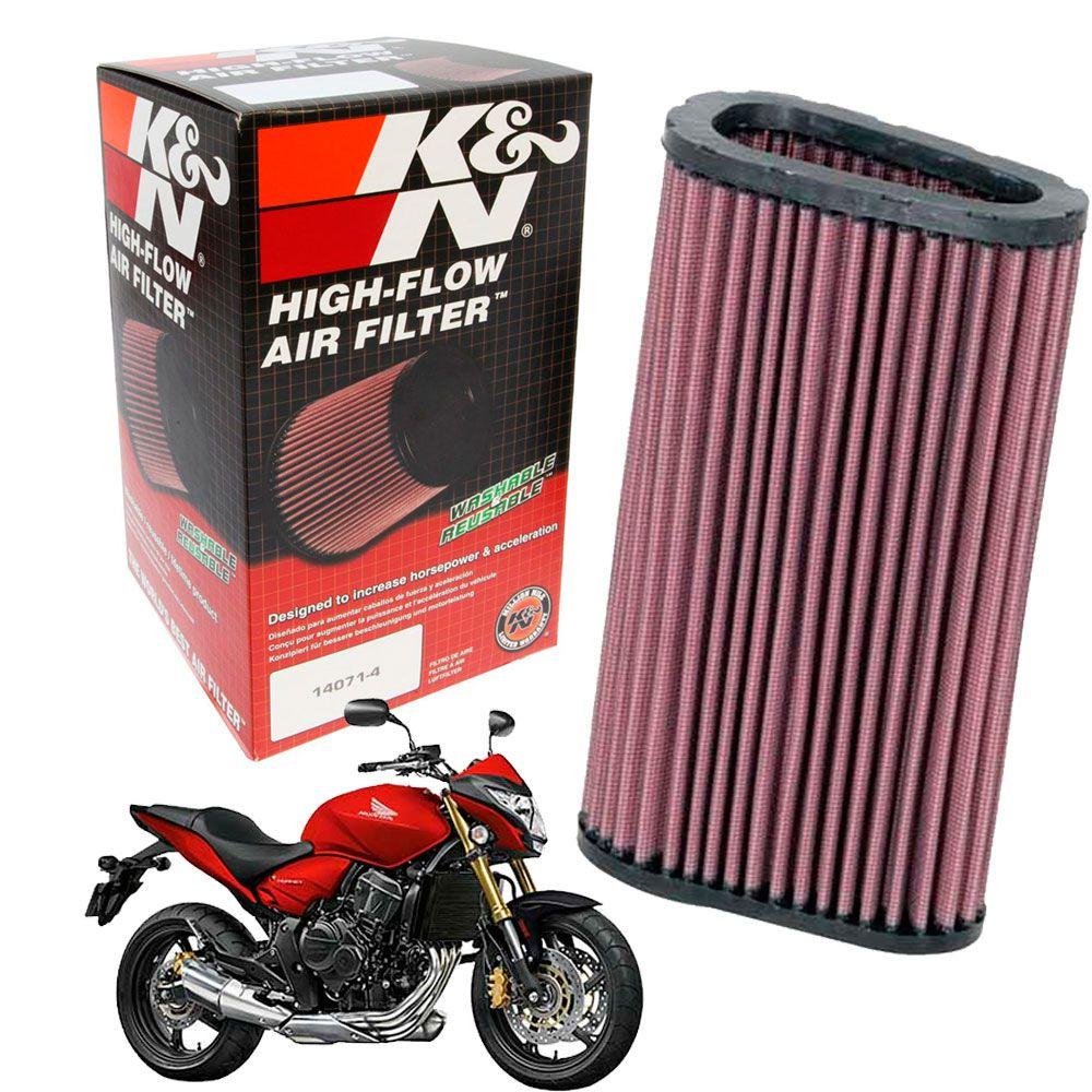 Filtro De Ar K&n Hornet 2008 2009 2010 2011 2012 K N CB 600F