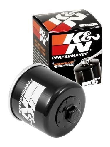 Filtro Oleo K&n K N Gsx-r 1000 Gsx 650 F Gsx-r 1100w Kn138