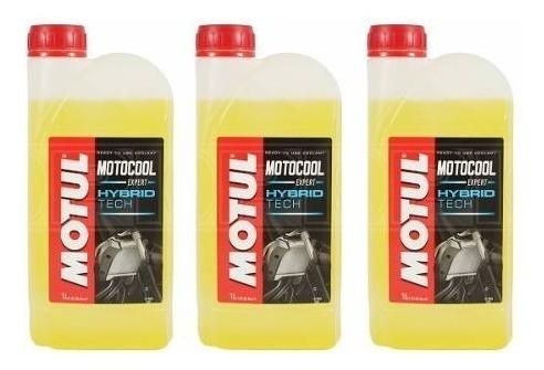 Fluído Radiador Motos Motul Motocool Expert 1l - 3 Litros