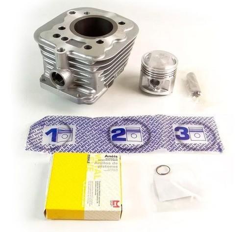 Kit Cilindro Cg Titan 125 / Ml / Turuna / Xl 85/ Vareta Metal Leve