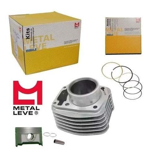 Kit Cilindro Fan 160 Bros 160 Motor Pistao Cg Titan Metal Leve