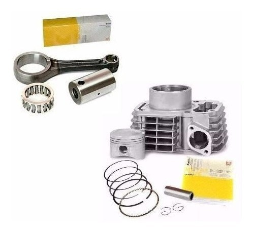 Kit Cilindro Motor + Biela Titan 150 Bros 150 Metal Leve