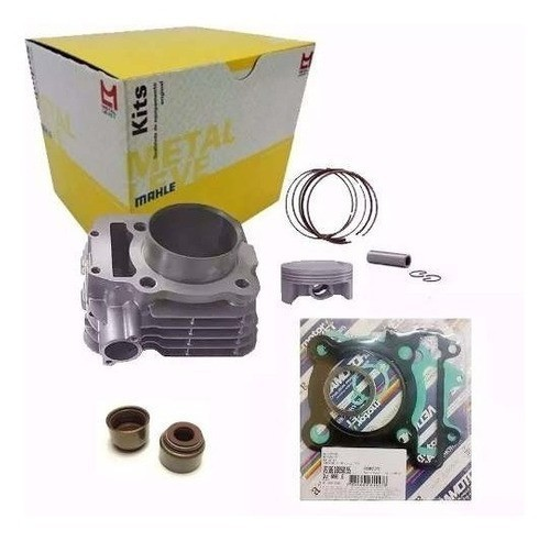 Kit Cilindro Motor Fazer 250 Tenere Retentores Metal Leve + Juntas