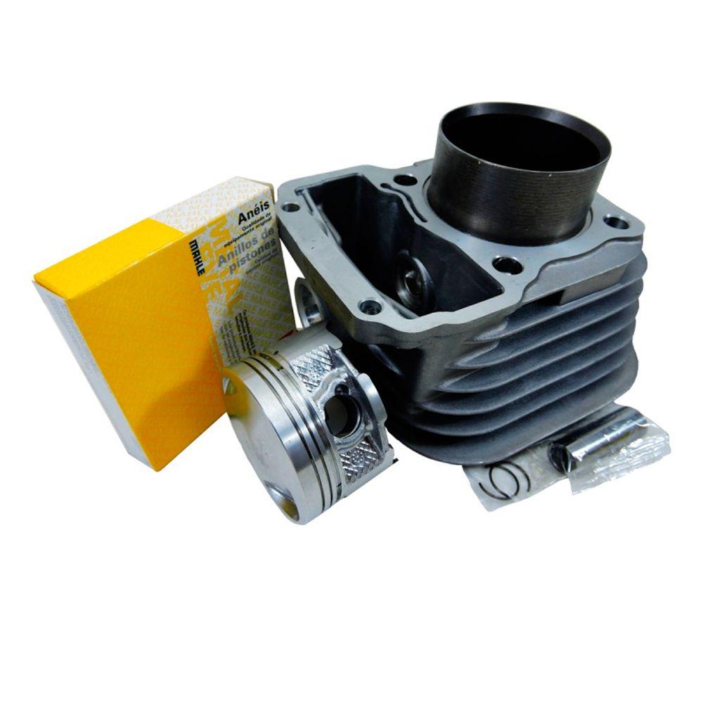 Kit Cilindro Motor Pistao Titan Fan 125 2002 até 2008 Metal Leve