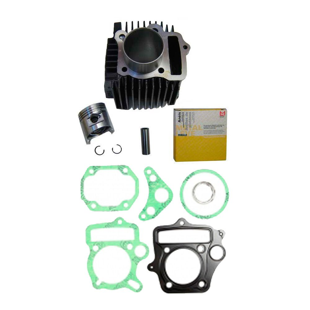 Kit Cilindro Motor Pop 100 Biz 100 Dream C/ Juntas Superior