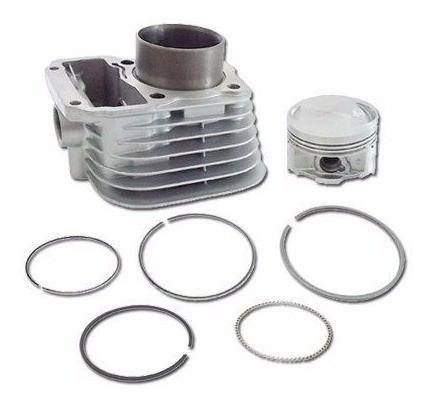 Kit Cilindro Motor Titan 125 1999 Retentor Juntas Metal Leve