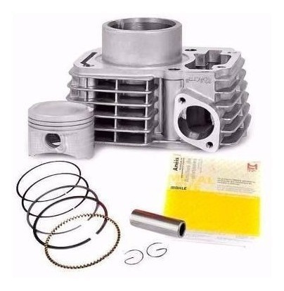 Kit Cilindro Motor Titan Fan 150 Bros 150 Biela Válvulas Metal Leve
