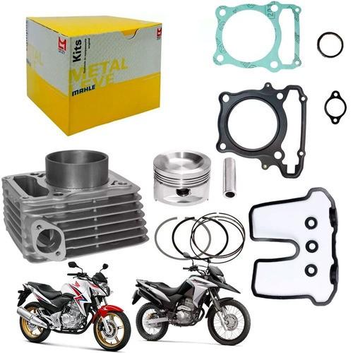 Kit Cilindro Xre 300 CB 300 Metal Leve + Junta Superior Honda