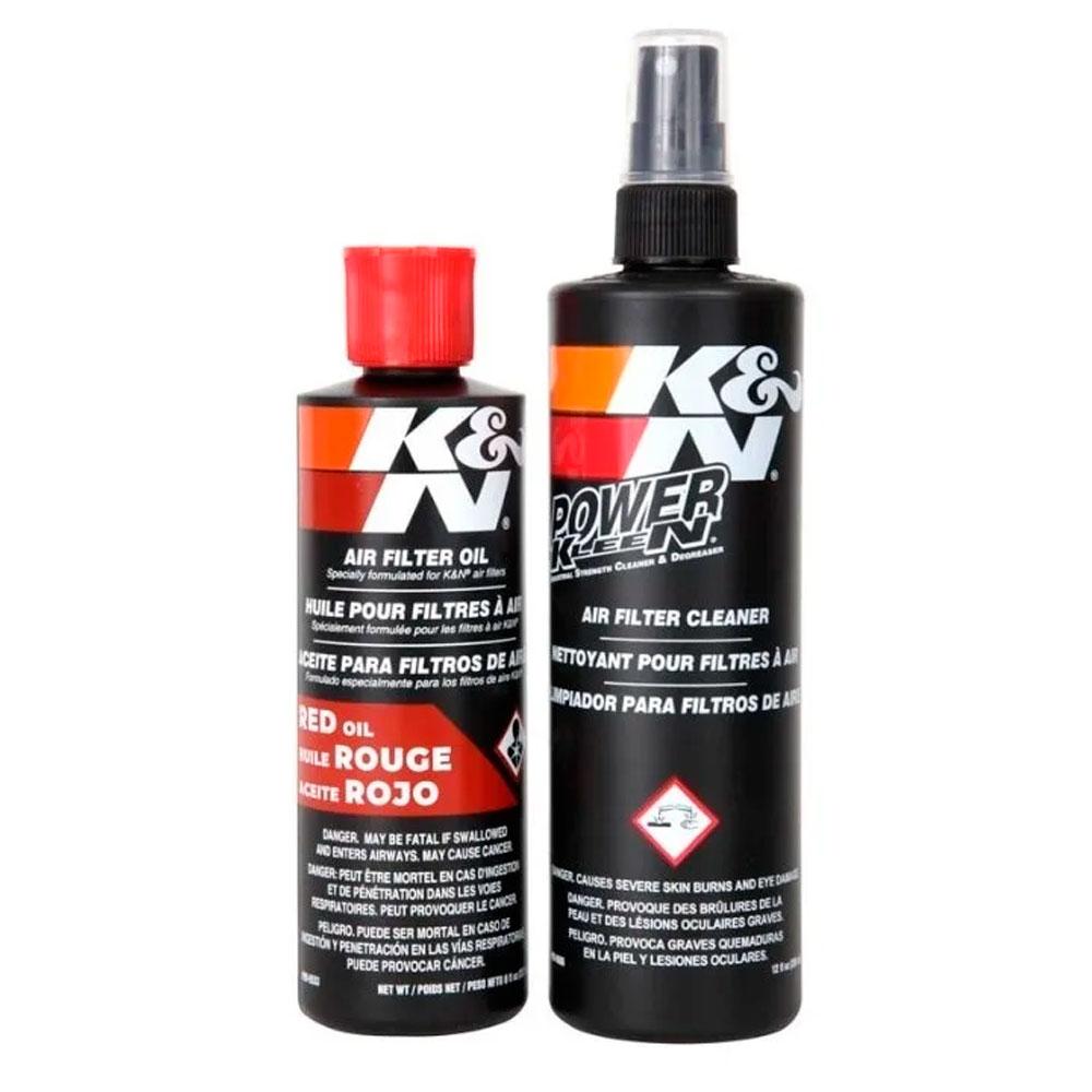 Kit Limpeza Filtro K&N 99-5050 Recharger K N Squeeze