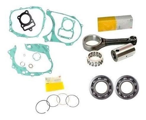 Kit Motor Biela Titan 125 99 1999 Rolamento Cambota Juntas