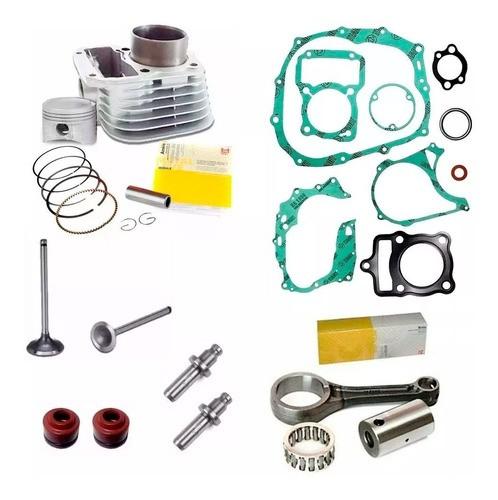 Kit Motor Biela Titan Cg 125 99 1999 Valvula Retentor Juntas