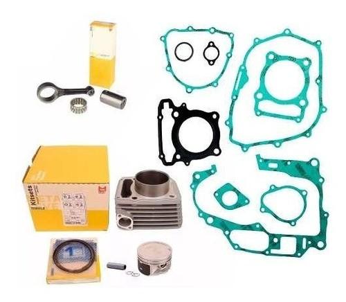 Kit Motor Pistao + Biela Xre 300 Cb 300 Metal Leve + Juntas