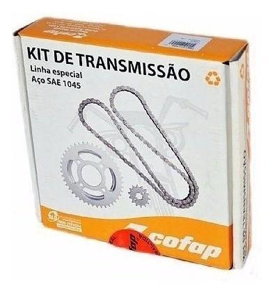 Kit Relação Transmissão Tração Titan 150 Sport Cofap