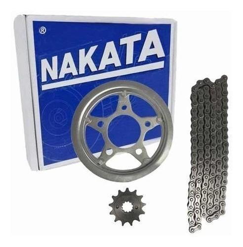 Kit Relação Twister 250 CBX 250 Tração Transmissão Nakata