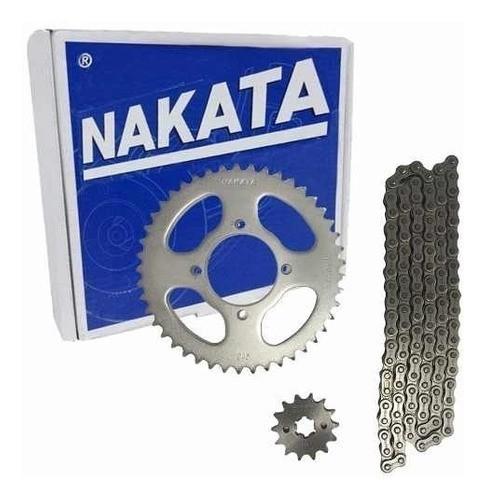Kit Relação Ybr 125 Nakata