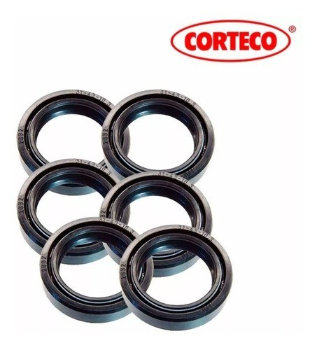 Kit Retentor Bengala Cbx 250 Twister Cb 500 Xlx 350 Corteco (6 Peças)