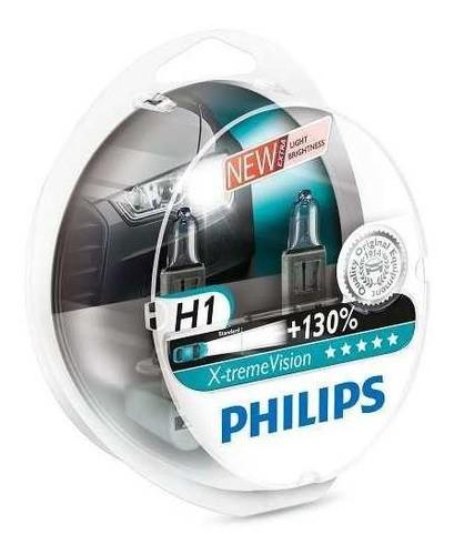 Lâmpada H1 Philips Extreme X-treme Xtreme Vision 130% Luz