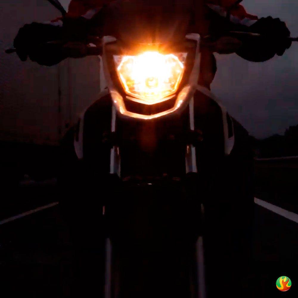 Lampada Motovision +40% De Luz H4 35wphilips (para Moto)