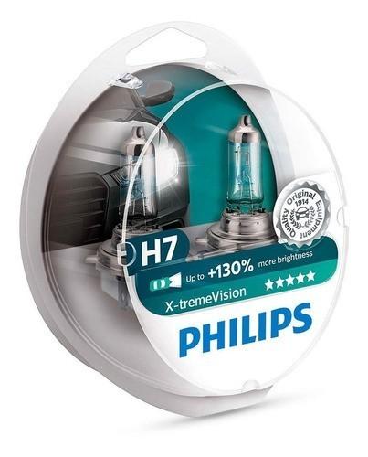 Lampada Philips Farol X-treme Vision 55w H7 Hornet
