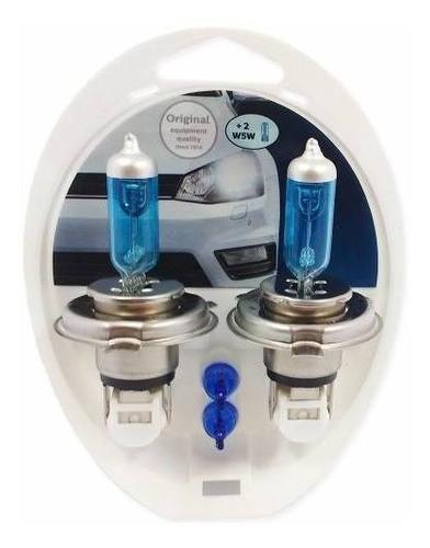 Lampada Philips Super Branca Crystal Vision H4 60/55w 4100k