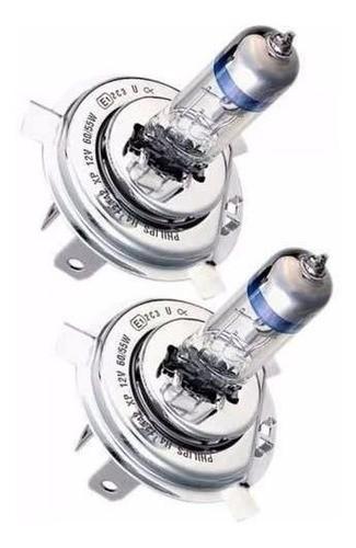 Lâmpada Philips Xtreme Vision Farol H4 130% + Luz 60/55w