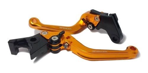 Manete Spencer CB600 Hornet  CBR600 F 2008 2014 Regulagem Articulada