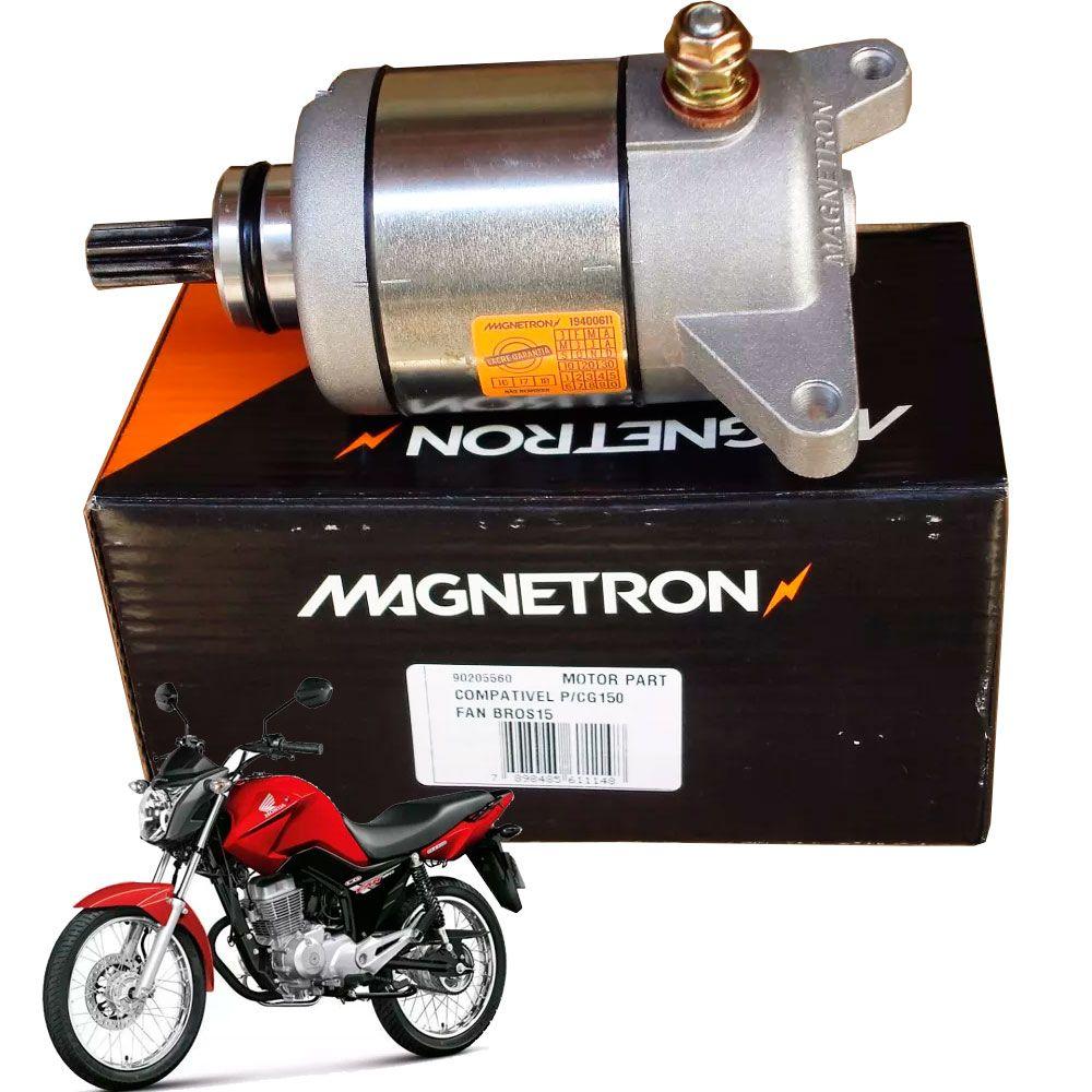 Motor de Partida Fan 150 Todas Magnetron