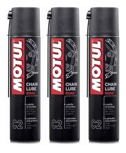Motul Mc Care C2 Chain Lube Road 400ml - 3 Unidades
