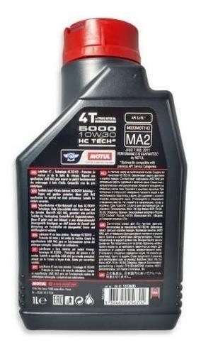 Oleo Motul 10w30 5000 Semissintetico 4t Hc-tech
