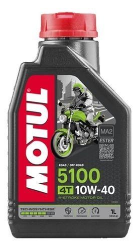 Óleo Motul 5100 10W40 Semi Sintético