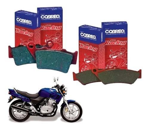 Pastilha de Freio CB 500 WW Antiga 1998-2005 Cobreq - Kit