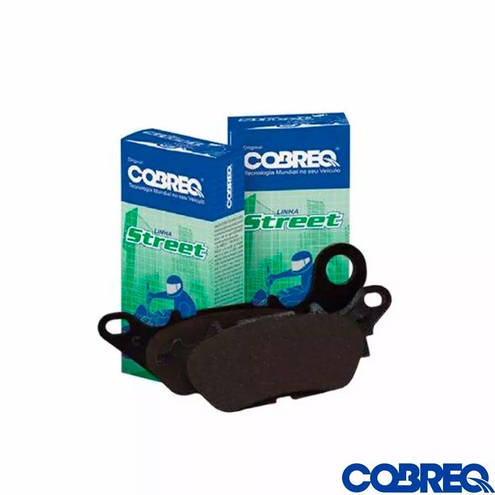 Pastilha de Freio NMax 160 Com ABS Traseira Cobreq
