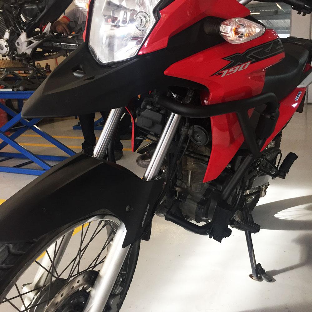 Protetor de Carenagem XRE 190 e Motor Chapam Preto Fosco