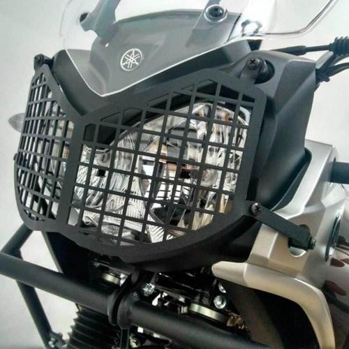 Protetor de Farol Tenere 250 Modelo Grade Preto Fosco Chapam