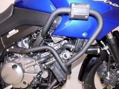 Protetor Motor Carenagem C/ Pedaleira V-strom 650 Dl Chapam