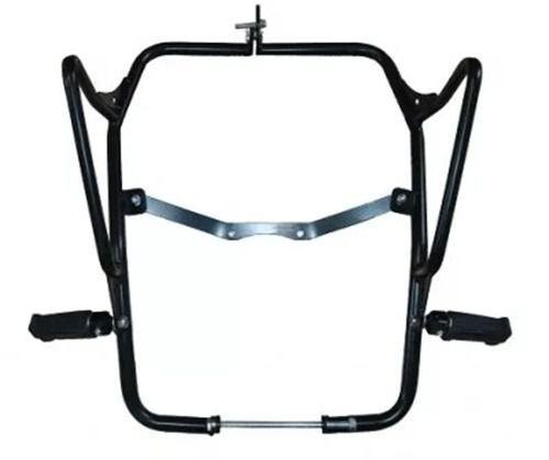 Protetor Motor Carenagem Tenere 250 Pedal Preto Fosco Chapam