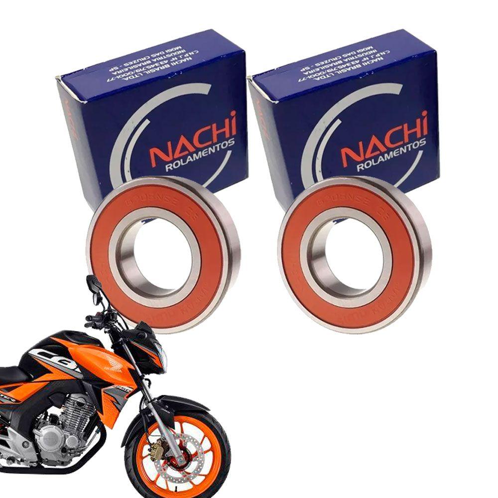 Rolamento Roda Dianteira Twister 2016 2017 2018 2019 Nachi