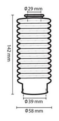 Sanfona Bengala 13 Dentes Titan 150 Fan 150 2009 até 2014 Circuit