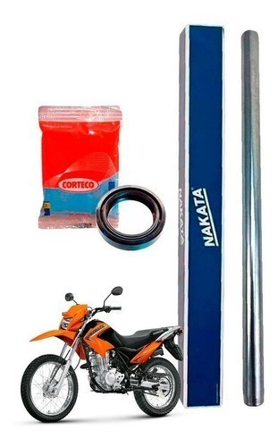 Tubo Cilindro Interno Bengala Bros 125 Nakata + Retentor