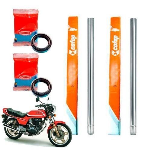 Tubo Cilindro Interno Bengala CB 400 CB 450 Cofap + Retentor - Par