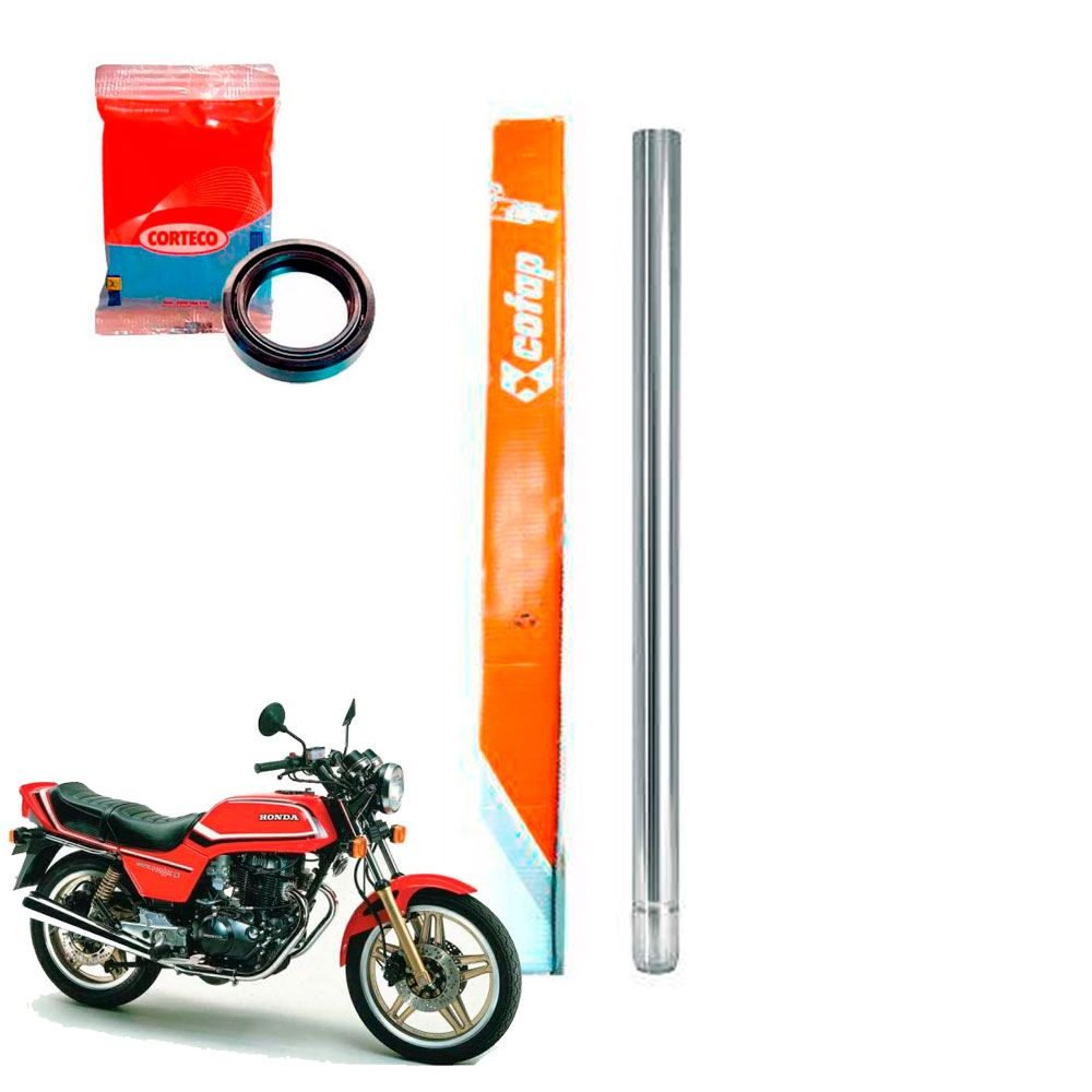 Tubo Cilindro Interno Bengala Cofap Cb400 Cb450 + Retentor Corteco