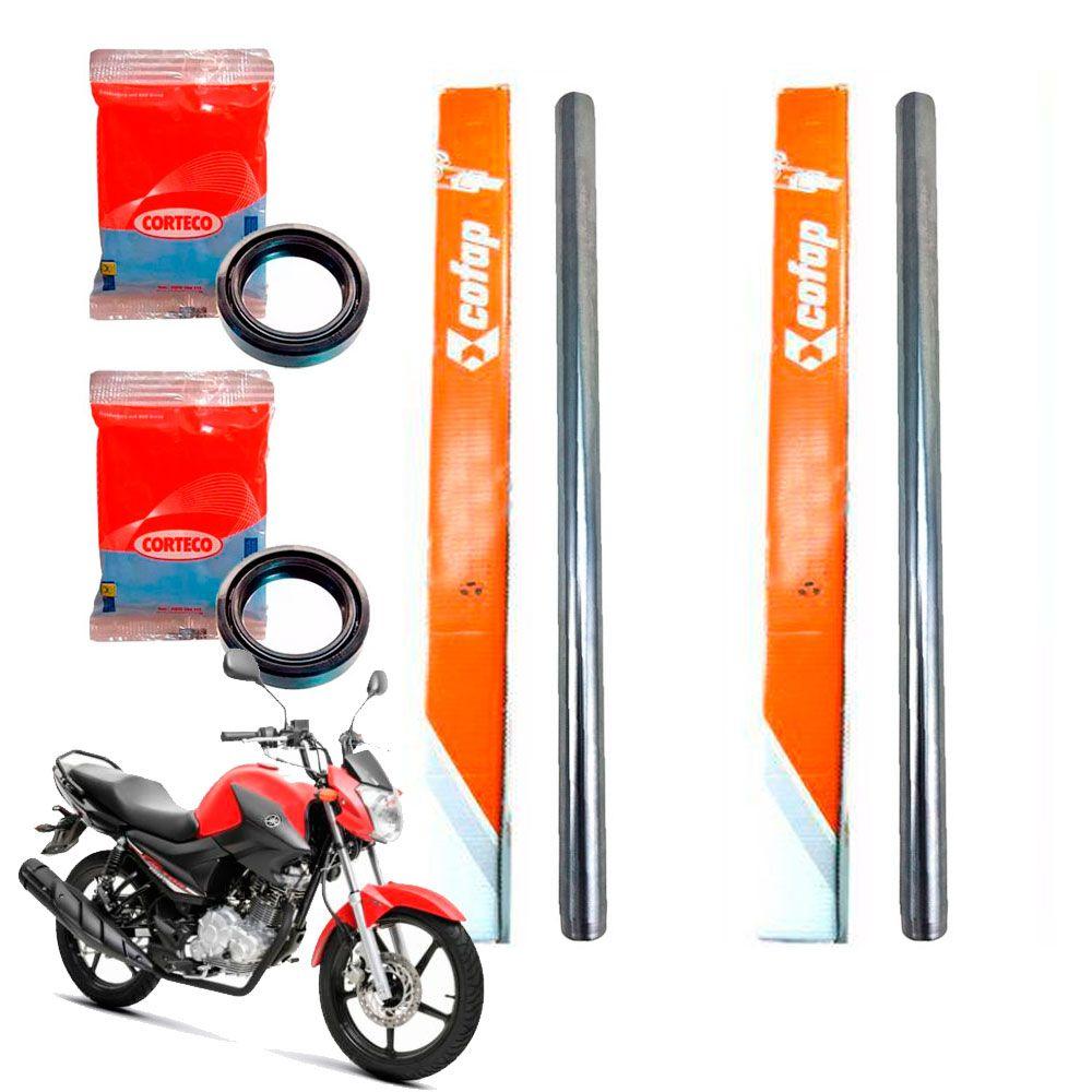 Tubo Cilindro Interno Bengala Factor 150 Cofap + Retentor Par