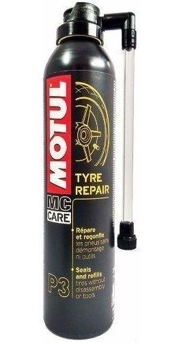 Tyre Repair Motul P3 Reparador De Pneu Furado Spray 300 Ml