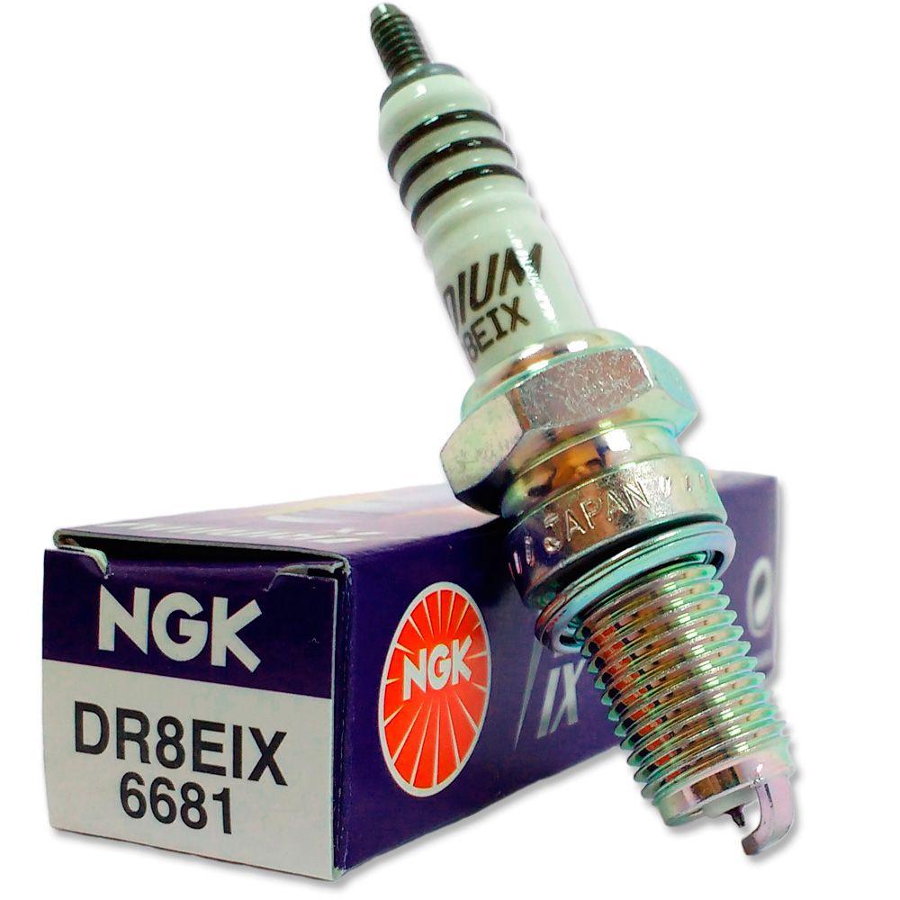 Vela Iridium Ktm Duke Ii 640 99/02 Gasolina Ngk Dr8eix
