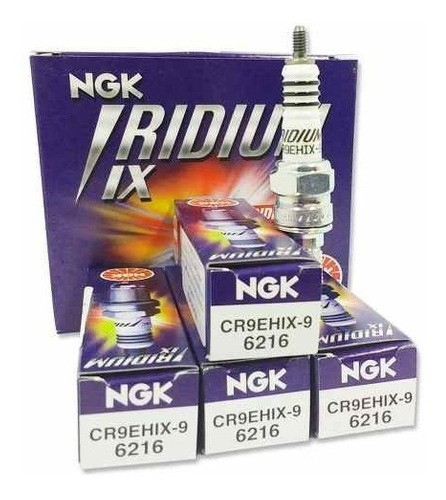 Vela Iridium Ngk Cbr 900 Rr Fire Blade Cr9ehix9 - 4 Velas